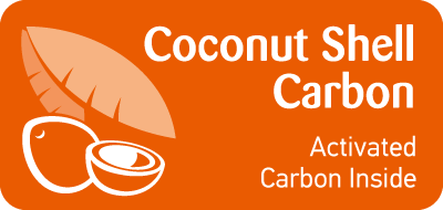 High quality coconut shell carbon is used in Bravo T100