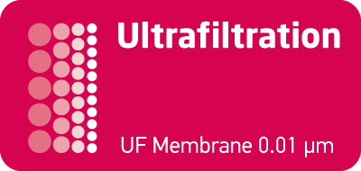 Ultrafiltration Hollowfiber Membrane is used in Bravo T100