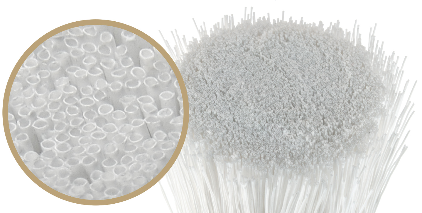 Ultrafiltration hollow fiber membrane is used in Bravo T100