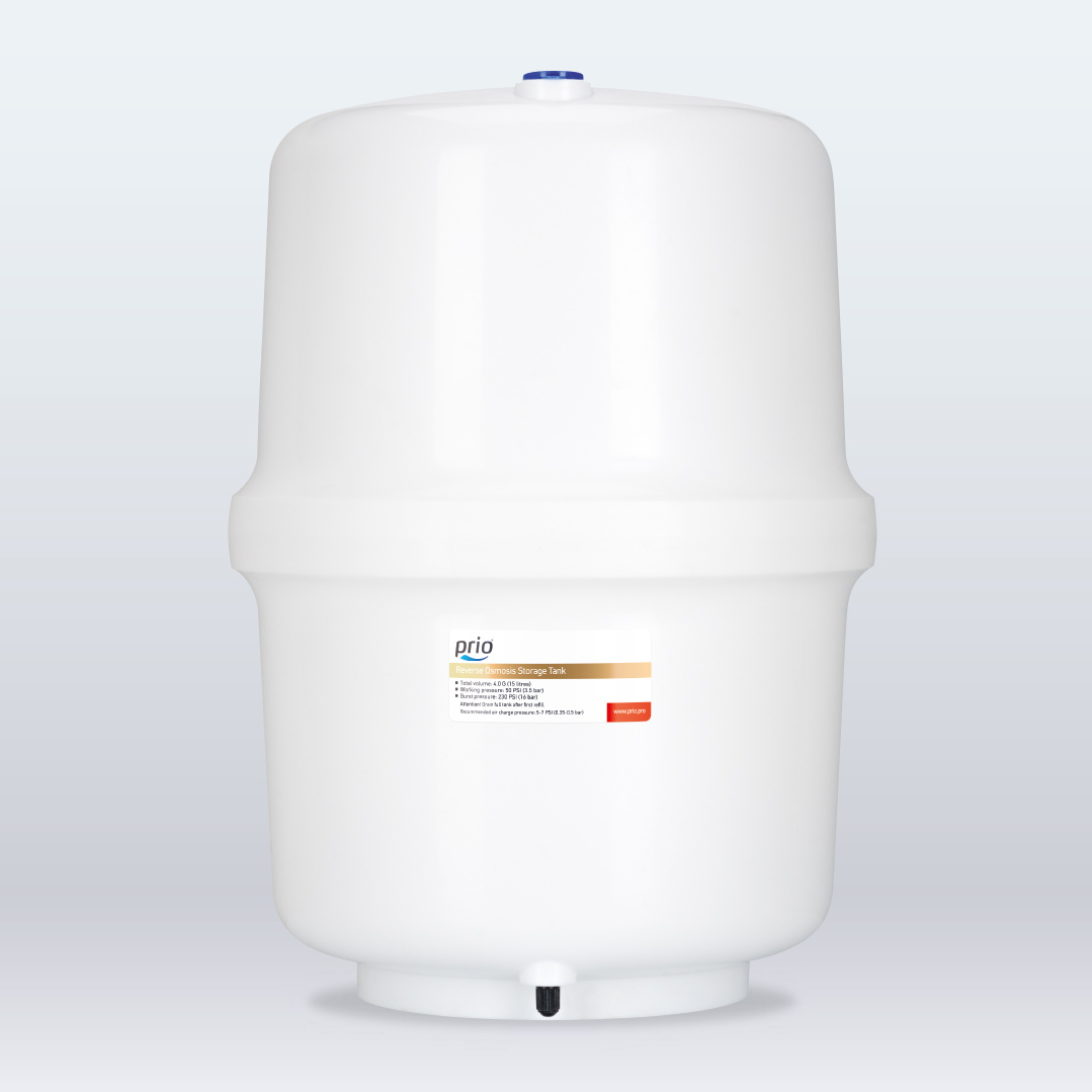 High-end 3.2, 4 or 5 gallon storage tanks to choose from